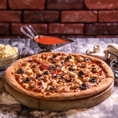 Proper Pizza & Pasta Capriciosa