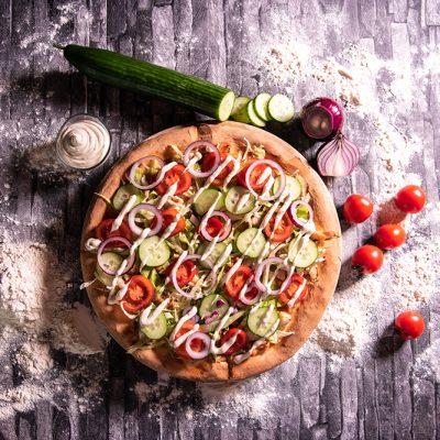 Proper Pizza & Pasta Pizza Kebab