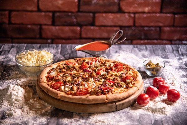 Proper Pizza & Pasta Cajun Pizza