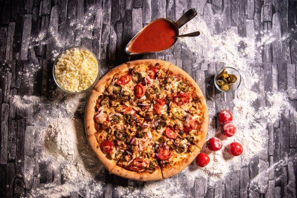 Proper Pizza & Pasta Cajun Pizza 01
