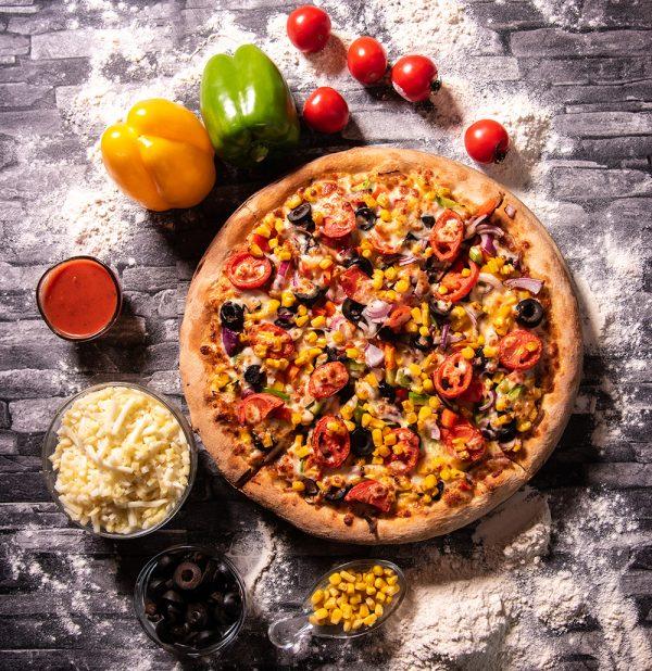 Proper Pizza & Pasta Vegetariana 01